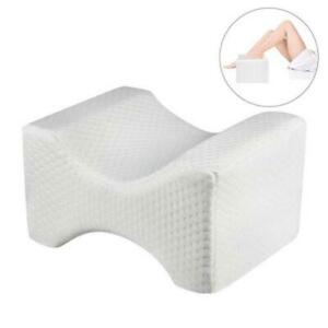 Pure-Memory-Foam-Knee-Pillow-Orthopedic-Knee-Pillow-Taie-D-039-oreiller-Removable