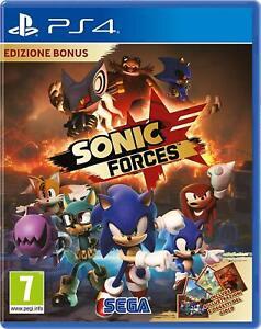 Sonic-Forces-Bonus-Edition-ps4-PLAYSTATION-4-NUOVO-amp-OVP-spedizione-lampo