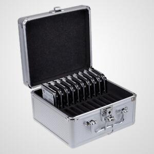 seatay aluminum 20bays 2 5 inch hdd ssd hard drive storage case