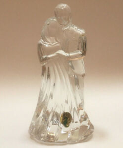 Good Image Is Loading Waterford Crystal Wedding Cake Topper Bride Amp Groom