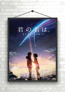 Kimi no na wa Your Name Anime Classic Movie Poster Art Print A0 A1 A2 A3 A4 Maxi