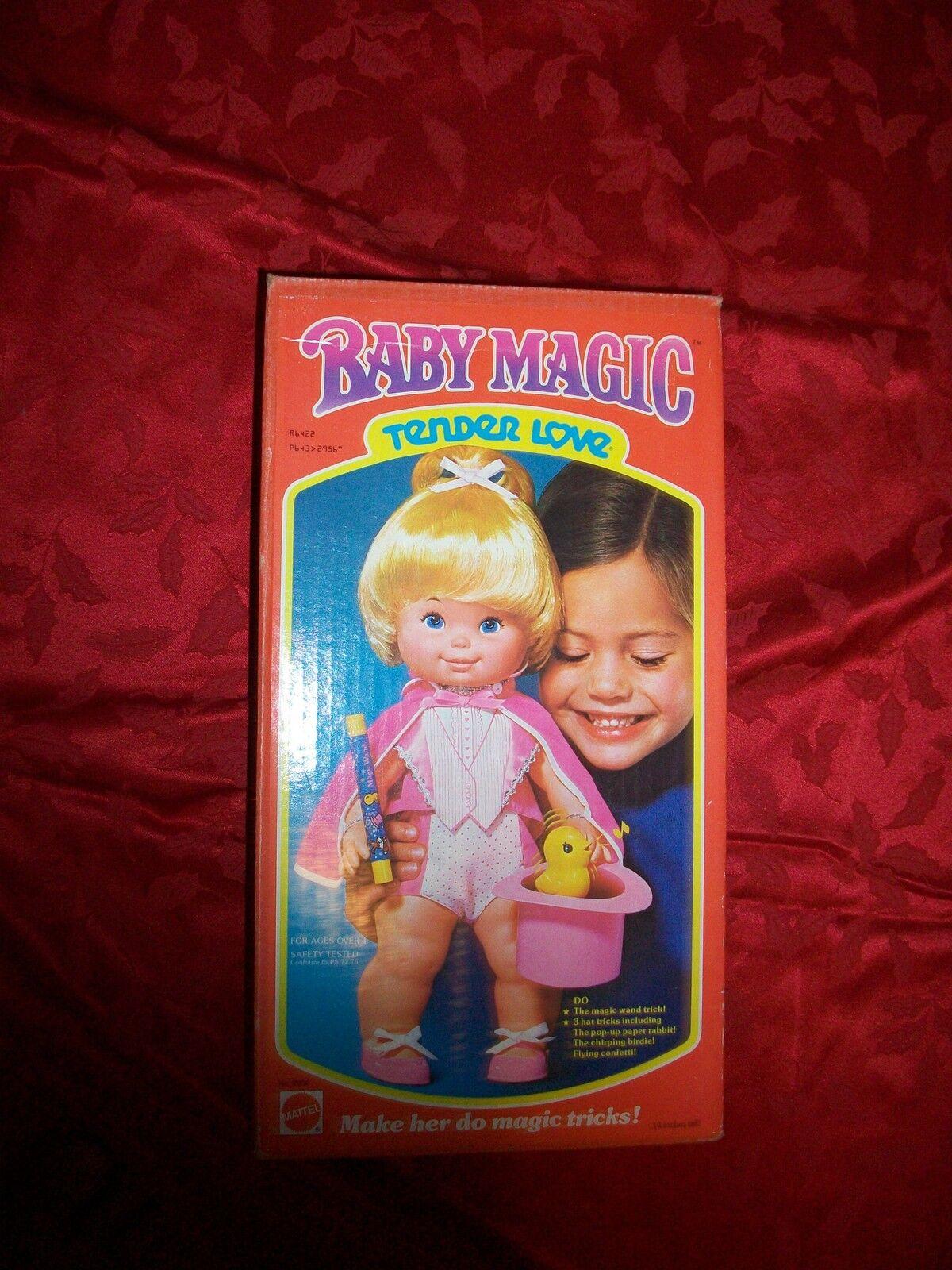 1978 Vintage muñeca bebé mágico tierno amor difícil de encontrar
