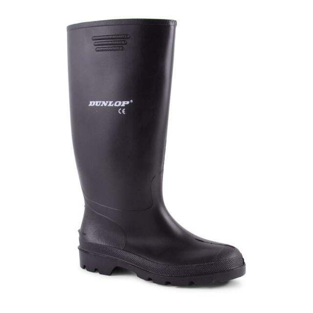 Mens Dunlop Hunting Waterproof Walking Wellies Rain Festival Wellington Boots UK