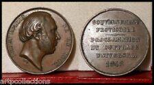 1848 MÉDAILLE  CUIVRE LEDRU ROLLIN GOUVERNEMENT PROVISOIRE SUFFRAGE UNIV