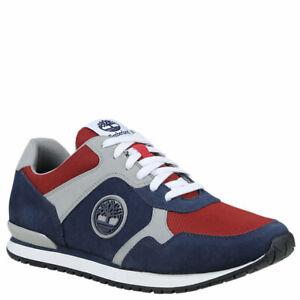 Détails sur Timberland Chaussures Homme Coureur Oxford Bleu+Rouge A1GJ0 406 SS19