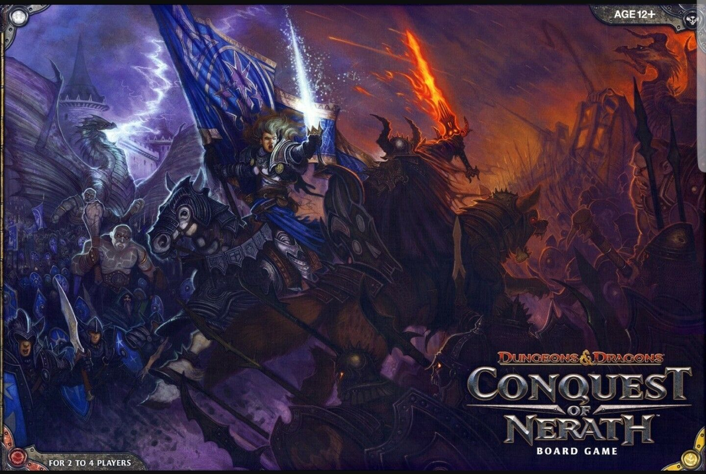 Sealed NEW   Conquest of Nerath: A Dungeons & Dragons Board game NEW - 338060000