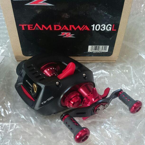 Daiwa Taniyama TEAMDAIWA103GL TD-Z TYPE-R Baitcasting Reel Mint 500 Limited