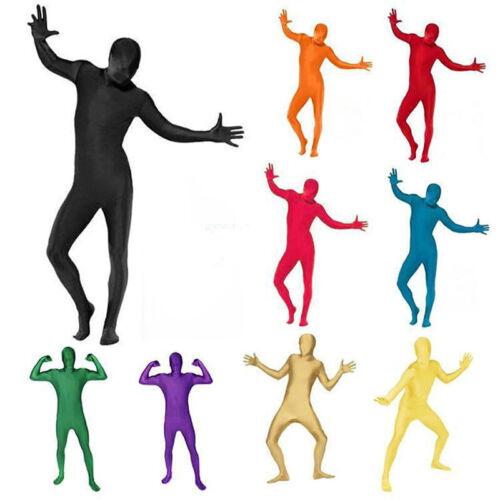 Full body Zentai Stretch Skinsuit Spandex Bodysuit Catsuit Halloween Costume