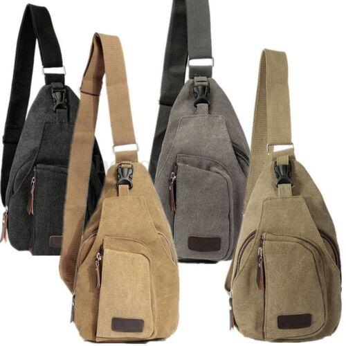 Mens Crossbody Shoulder Bags Military Travel Sling Backpack Tactical Chest Bag