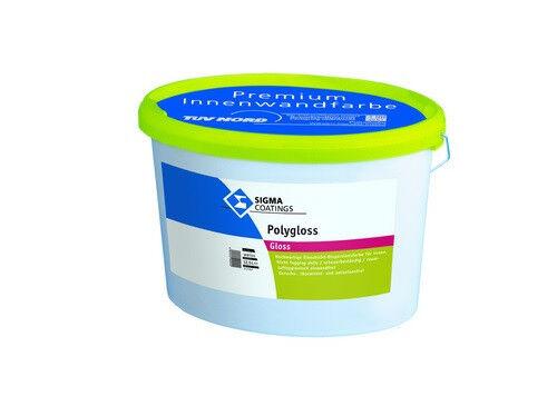 SIGMA Polygloss 12,5 Liter weiss +++glänzende Kunststoffdispersionsfarbe+++