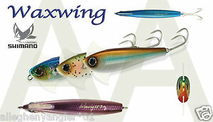62167f2fc78 Image is loading Shimano-Waxwing-Lure-88mm-3-5-034-7-
