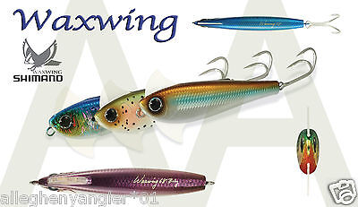 Subsurface 45 Gram Sinking-Pick Your Color Shimano Waxwing 118 Lures