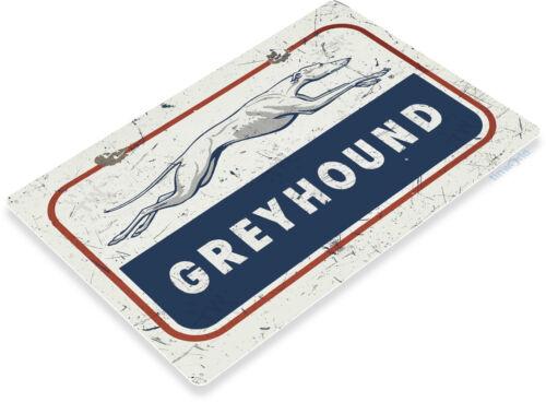 TIN SIGN Greyhound Bus Stop Depot Metal Wall Décor Shop Station Store A855