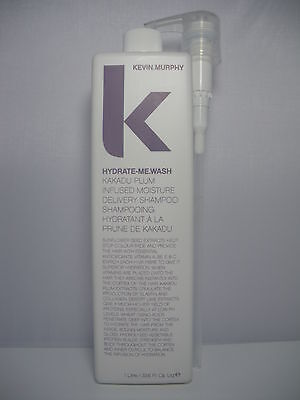 Kevin murphy  hydrate - me wash 1 litre 1000 ml brand new with pump included