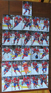 2013-14-MONTREAL-CANADIENS-TEAM-SET-ISSUE-POST-CARD-SEALED-RARE-26-CARDS