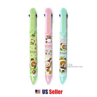 San-x Rilakkuma 3+1 Multipen 3 Color Ballpoint Pen 0.5mm Mechanical Pencil 1pcs