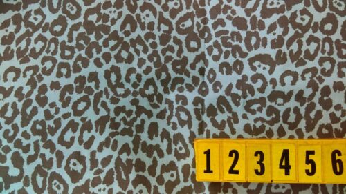 New by Dcf Paisley Abstract Leopard Gold Polyester Cat Skin 80cm x 140cm Wide