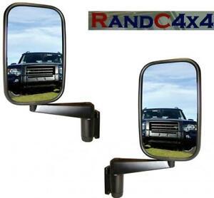 MTC5217-x2-Land-Rover-Defender-Door-Wing-Mirror-and-Arm-PAIR-90-110-130-Series