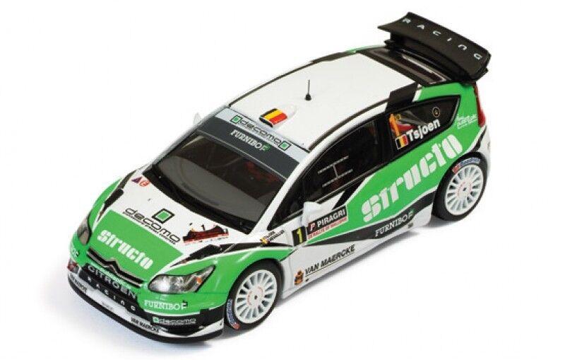 1 43 Citroen C4 WRC  Structo   Rallye de Wallonie  Belgium 2011  P.Tsjoen