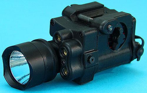 G&P 4in1 Laser e Flashlight RIS Weaponlight GPLSP005