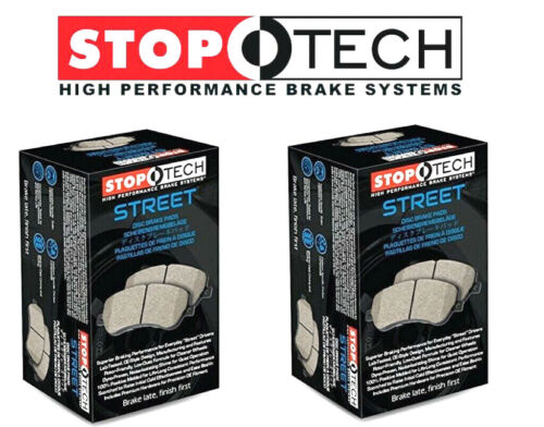 Stoptech Street Front Rear Brake Pads Fits Hyundai Genesis Coupe WITH Brembo