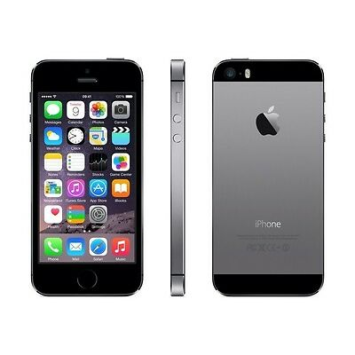 Apple iPhone 5S Smartphone 16GB (4 Zoll) IPS Retina-Touchscreen, 8MP Spacegrau