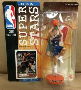 NEW 1999-2000 Mattel NBA Super Stars Action Figure Keith Van Horn NETS 🏀 MOC 🔥