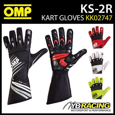 OMP KS-2R Go-Kart Kart Karting Race Racing Track Driving Gloves