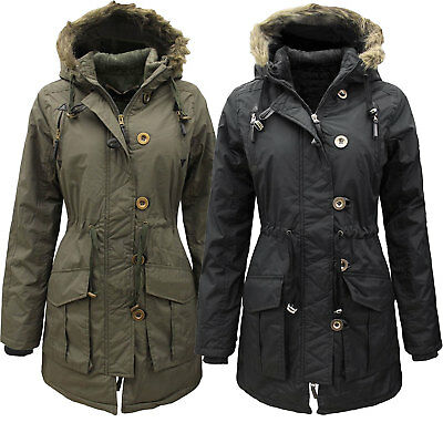 Womans Parka Coat