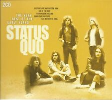 THE VERY BEST OF THE EARLY YEARS STATUS QUO 2 CD BOX SET - SHY FLY & MORE