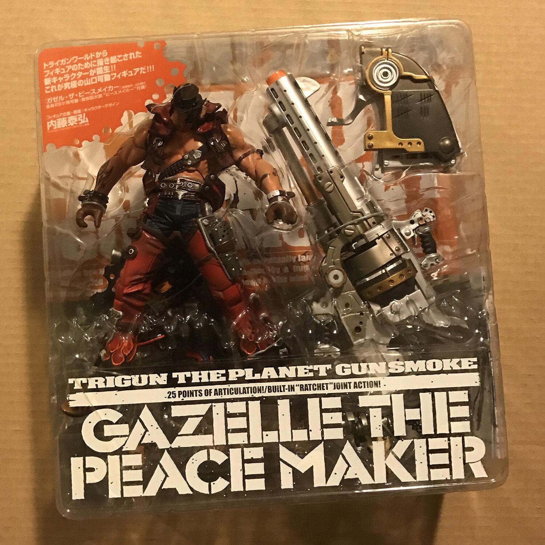 Kaiyodo Trigun the Planet Gunsmoke Gazelle the Peace Maker Brand New