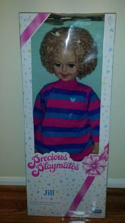 Precious Playmates Playmates Playmates 32  JILL muñeca cuerpo suave pelo arraigado Ojos Para Dormir  muchas sorpresas