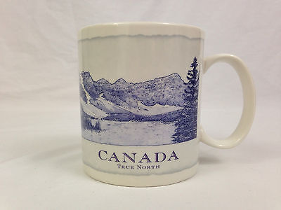 Starbucks Coffee Mug Canada True North Architect Collectors Tea Cup 18 Ounce