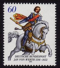 Germany 1991 Death of Jan von Werth, General SG 2355 MNH