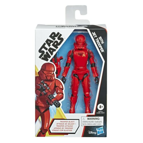 Action Figure E9144 Star Wars Galaxy Of Adventures Sith Jet Trooper Red