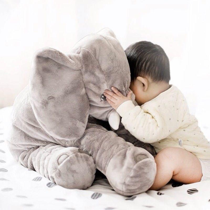 "UK 24"" Large Big Soft Plush Stuffed Elephant Animal Toys Teddy Bear Play Pillow 4"