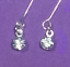 Dreamz-RHINESTONE-DIAMOND-DROP-Earrings-w-SILVER-Settings-Barbie-Doll-Jewelry thumbnail 1