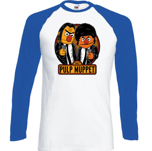 Pulp Fiction T-shirt Homme The Muppets Parodie Top