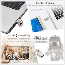 4GB RondaFul USB2.0 OTG Phone PC Flash Memory Pen Drive Storage U Disk H