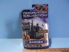 "Terminator Salvation Barnes 4""in Action Figure w/Resistance Blaster Playmates"