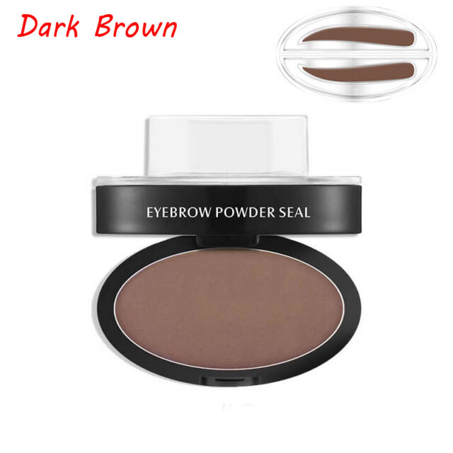 Eyebrow Shadow Definition Makeup Brow Stamp Powder Palette Delicated