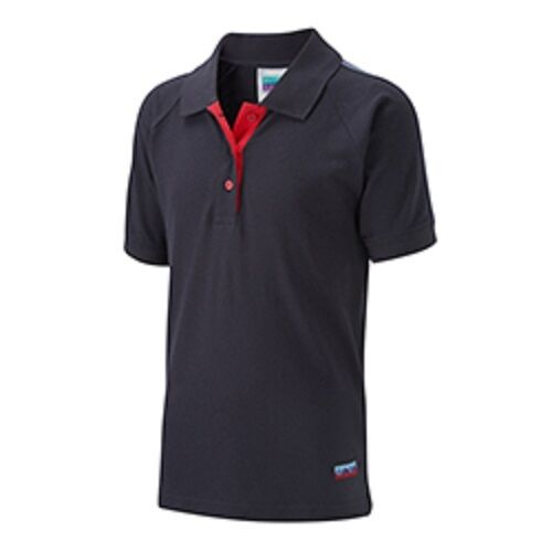GIRL GUIDE POLO PLAIN NAVY CAMP WEAR FREE DELIVERY OFFICIAL SUPPLIER.