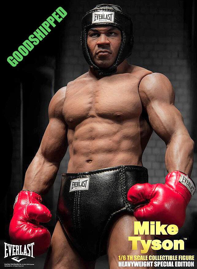 Prêt Storm Toys Mike Tyson plus jeune Champion Poids lourd Ceinture 1 6 DGSIM Neuf Dernier