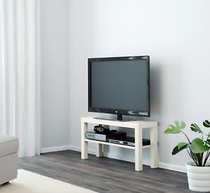 Détails Sur Ikea Lack Banc Tv Blanc Meuble Tv Pour Plasma Lcd Tv Del Afficher Le Titre D Origine