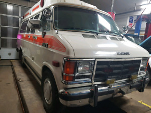1988 dodge ram van cargo/camper/travel
