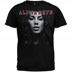 Ensoleillé Alicia Keys T-shirt Album Official Merchandise La Consommation RéGulièRe De Thé AméLiore Votre Santé