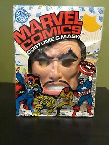 1978 Ben Cooper Halloween Costume Marvel Doctor Strange 1980 Red Skull Thing Box