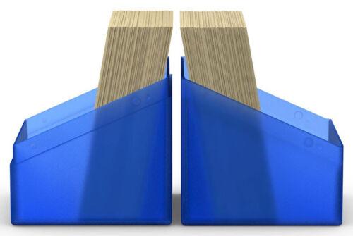 NEW Card Box MTG ULTIMATE GUARD BOULDER SAPPHIRE Standard Size DECK CASE 100