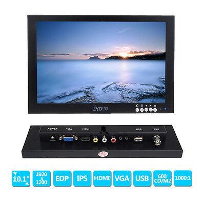 "10"" IPS EDP HD 1920*1200 VGA Video Audio HDMI Monitor for FPV Video Display,DVD"