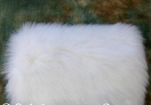 Faux Fur Wedding Cloak Gloves Warm Bridal Hand Warming Muff White Ivory Winter